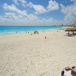 excelente la playa