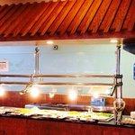 Hibachi grill area