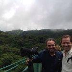 Selvatura bridge walk with Andres