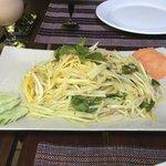 Papaya Salad - Lunch at The Kabiki