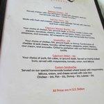 lunch menu 2