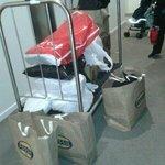 Borrow hotel trolley