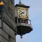 Beautiful Building's Clock