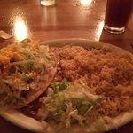 Enchilada & taco combo