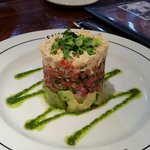 Deadly Avacado and Crab, as in to die for! The ultimate yummmm.