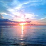 Sunrise in dumaguete.melancholy but pretty nice..