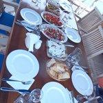 Lunch on board the Kekova II
