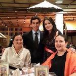 Manuel's graduation dinner