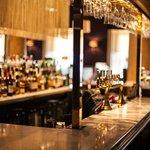 Stunning bar of the Aura Lounge