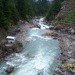 Baspa River, 10 min walk from AOFC