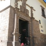 Entrance to Museo Inka