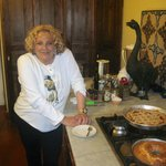 Gabriella, artist and wonderful cook