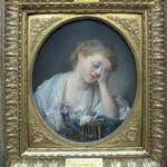 Greuze - Girl with a Dead Canary 1765
