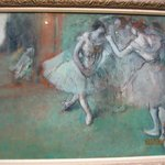 Degas - A Group of Dancer about 1898