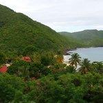 View overlooking the resort