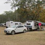 Great caravan sites with easy parking