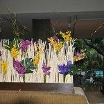 Des orchidées en guise de bienvenue