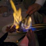 Saucisses Flambées