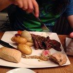 A minute steak. Good!