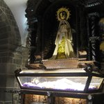 Inside Santo Domingo Church
