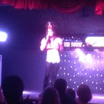 Amy Winehouse act. Singing for real Valerie