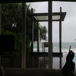 View from my Beachfront villa 542