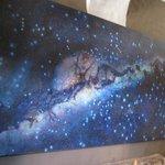 Milky Way painting