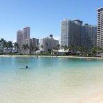 Lagoon at the Hilton Hawaiian Village