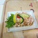 Snack Krabbbenbrot im SB Restaurant für ca. 10 €