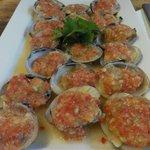 Clam with thai sauce