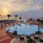 23 Rotunda Pool Panoramic View Sunrise - Renaissance Sharm El Sheikh