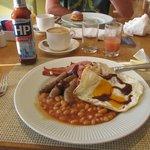 Wonderful full English breakfast