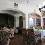 dining room at breakfast