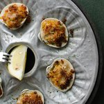Baked Portuguese clams
