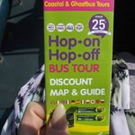 One of the bus stops outside offered Hop On tours