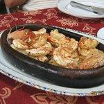 жареные креветки в соседнем ресторане
