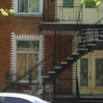 Outside stairs, a Montreal fixture