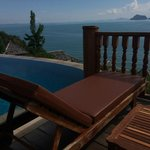 Lookout towards Phuket over private pool from Villa Deck