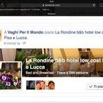 Offerte alloggi Pisa e Lucca Rondine low cost