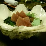 Blue fin toro shashimi