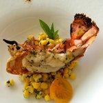 Roasted Kona Lobster – Anchovy & marrow butter, citrus corn salad, Thai basil