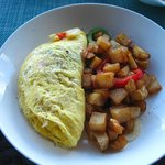 lobster omelet - amazing