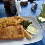 Delicious Food from Restaurant - Fish and Chips