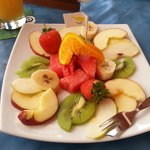 Delicious Food from Restaurant - Fresh Fruit Salad