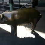 The biggest piggy bank at the Pike Place Market