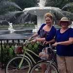 Mom and I at Forsyth Park