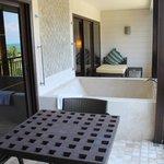 Rasa Premier room - the spa balcony!