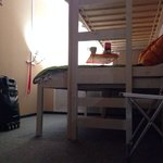 Под кроватью много места для вещей!