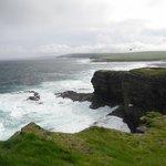 Wild north coast of Brough of Birsay