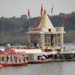 narmada river puja